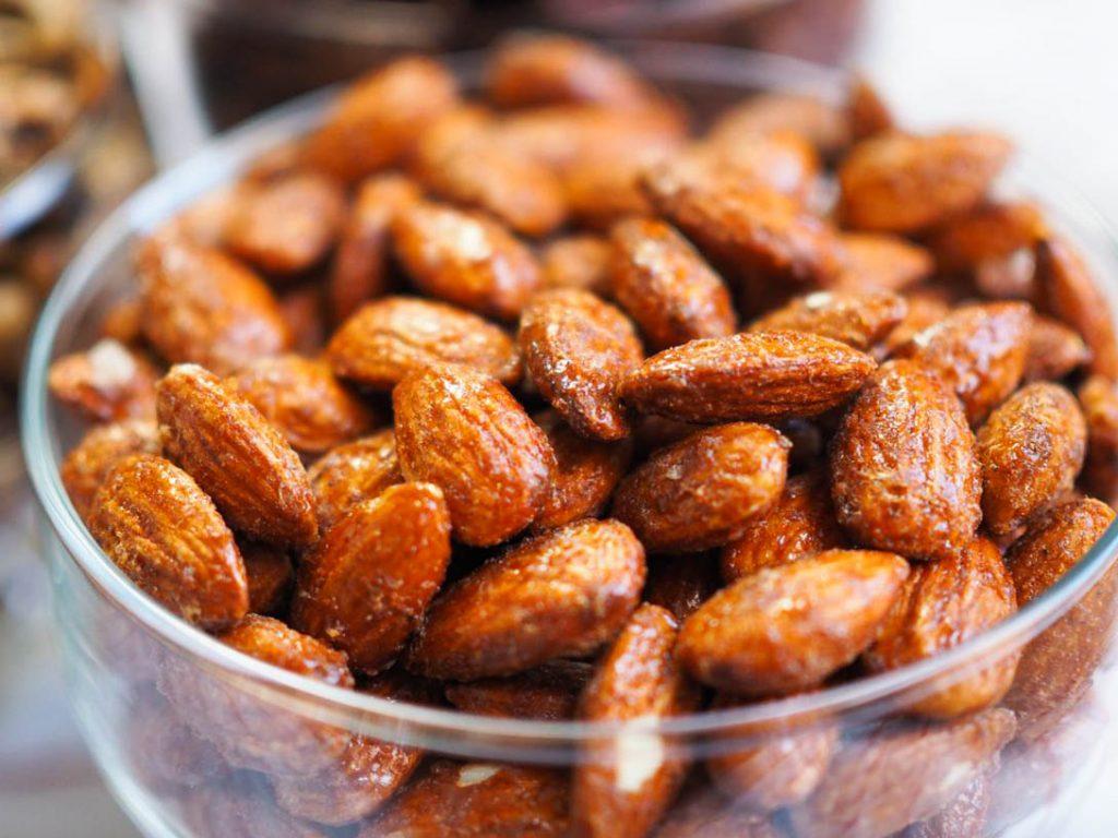 almonds per pound